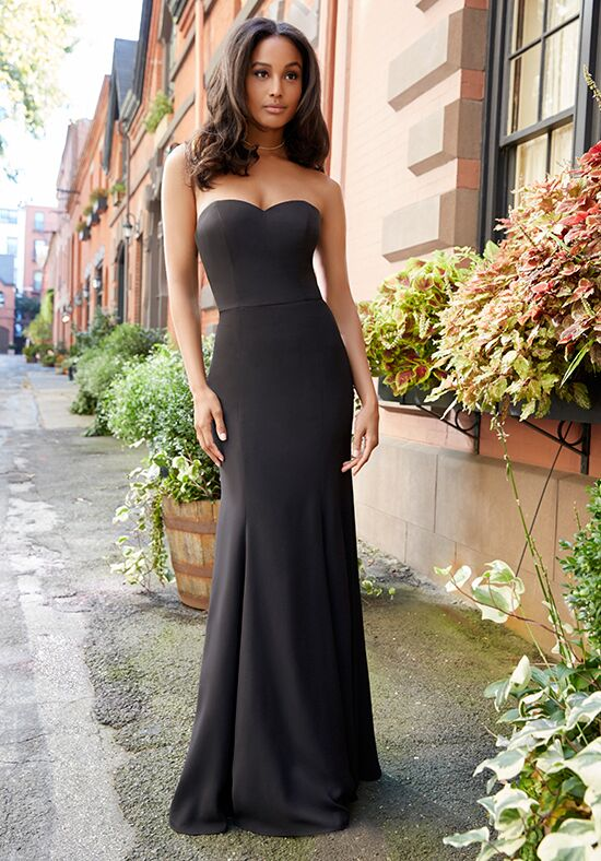 Hayley Paige Occasions 5817 Strapless Bridesmaid Dress