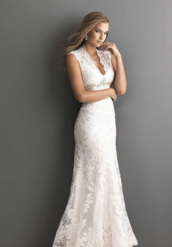 Allure Romance 2619 Sheath Wedding Dress