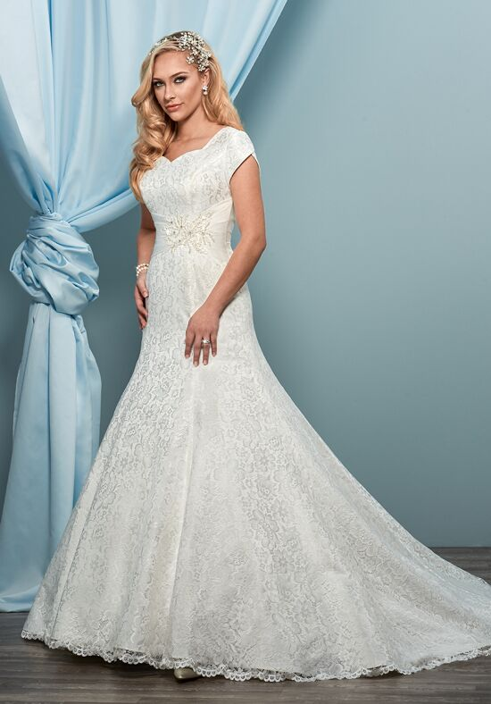 1 Wedding by Mary's Bridal 3Y622 Mermaid Wedding Dress