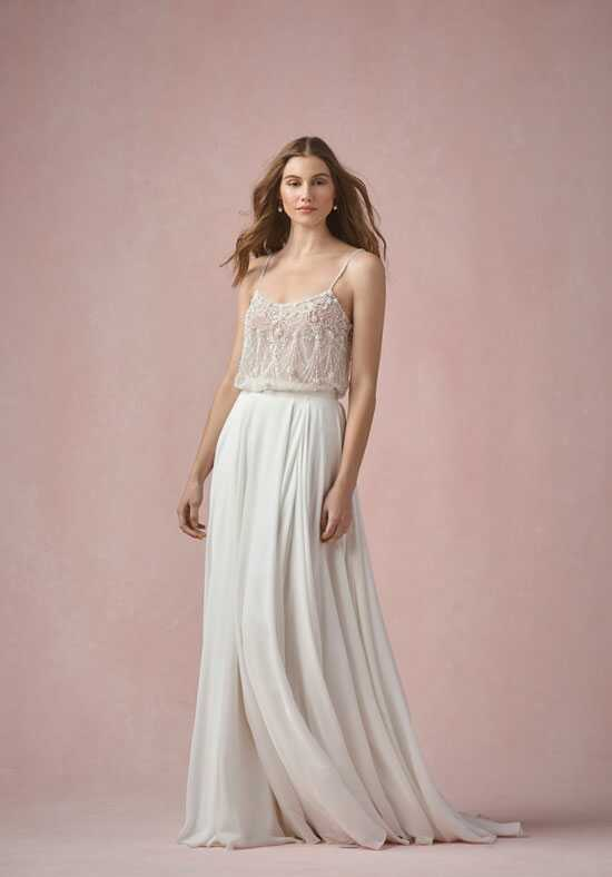 Willowby by Watters Pearl Tank (Unlined) 55620 / Ruby Skirt 55423 A-Line Wedding Dress