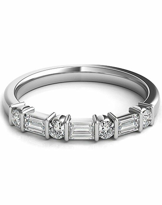 Since1910 SNTWBAP118A White Gold Wedding Ring