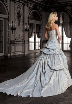 David Tutera For Mon Cheri 211243 Desirae Ball Gown Wedding Dress