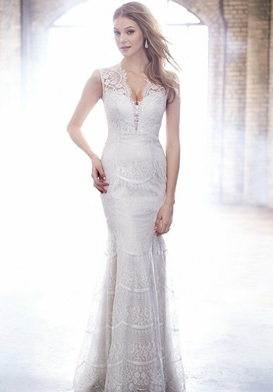 Madison James MJ158 Sheath Wedding Dress