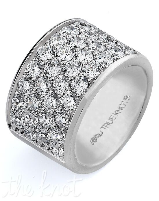 TRUE KNOTS TRUE MAN - DW-238 Palladium, Platinum, White Gold Wedding Ring
