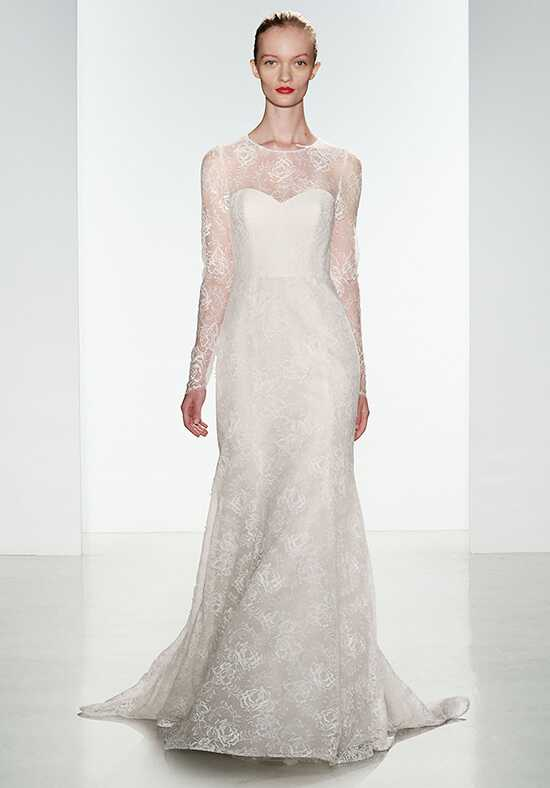 Amsale Tegan Sheath Wedding Dress