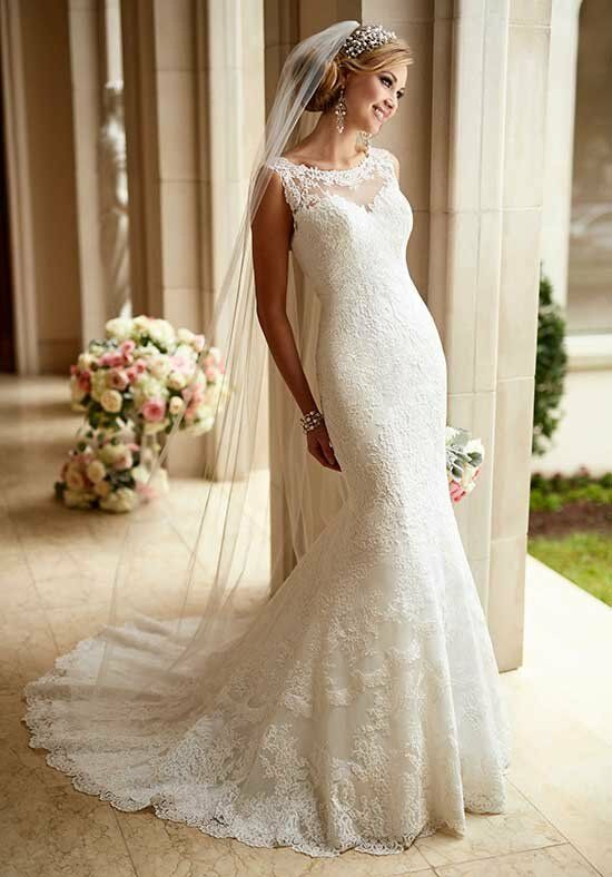 Stella York 6125 Mermaid Wedding Dress