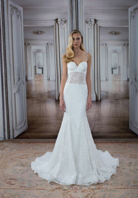 LOVE by Pnina Tornai for Kleinfeld 14419 Mermaid Wedding Dress