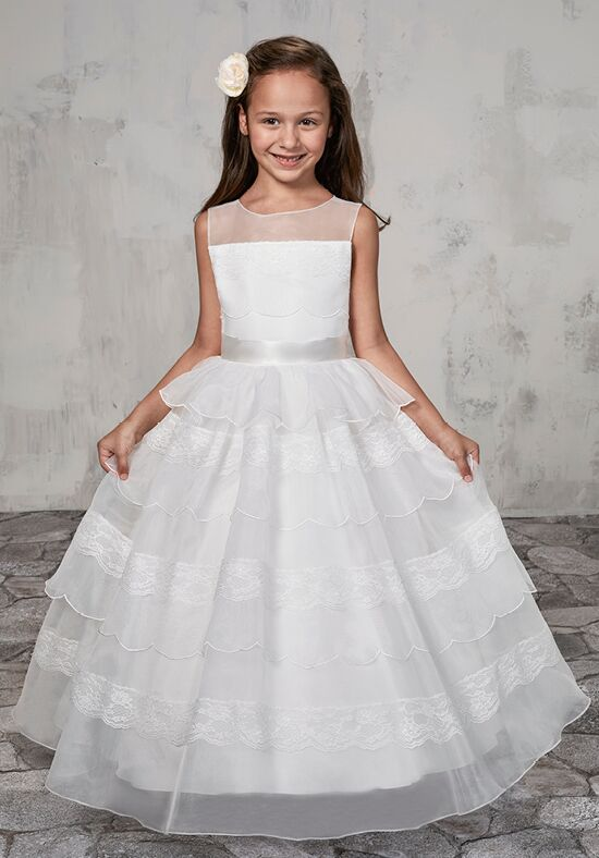 Long Flower Girl Dresses