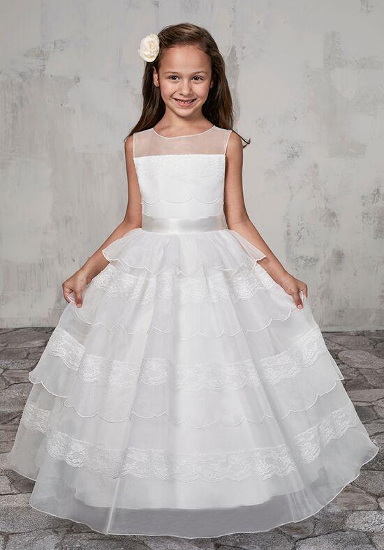 One Strap Flower Girl Dresses