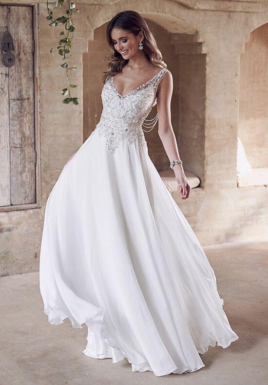 Anna Campbell Paige (Summer Chiffon) Dress Wedding Dress - The Knot