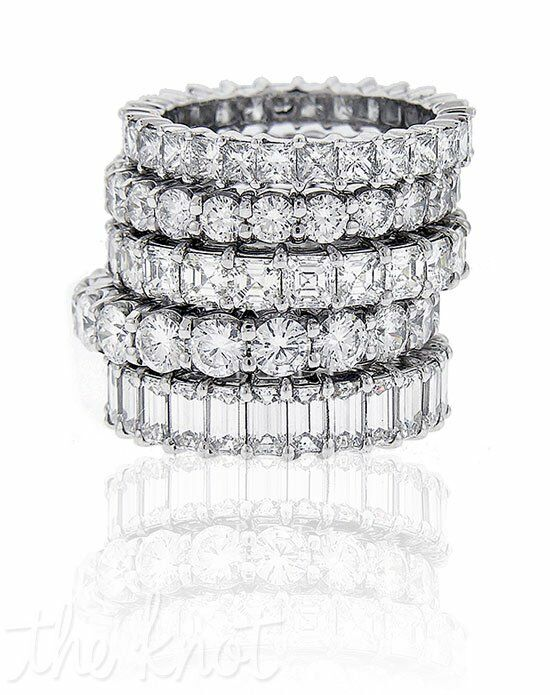 Since1910 Eternity Bands Platinum, White Gold Wedding Ring