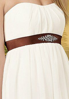Jordan 845 Strapless Bridesmaid Dress