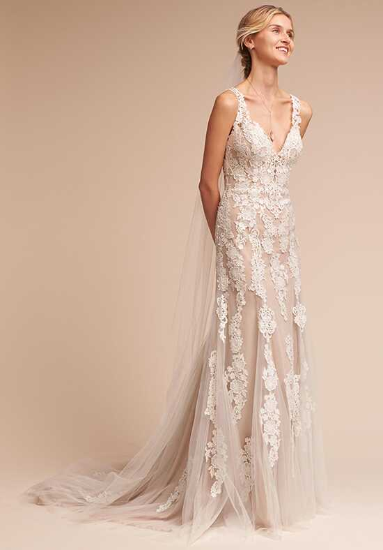 BHLDN Monarch Sheath Wedding Dress