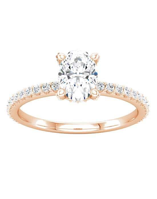 ever&ever Glamorous Oval Cut Engagement Ring