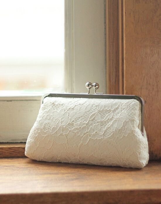 Davie & Chiyo | Clutch Collection Antoinette Box Clutch: Ivory Gold, Ivory Clutches + Handbag