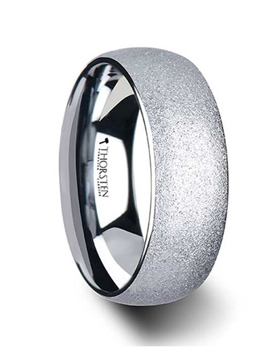 Mens Tungsten Wedding Bands W1163-DTSB Tungsten Wedding Ring