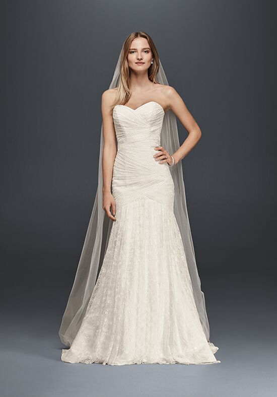David's Bridal David's Bridal Collection Style WG3842 Mermaid Wedding Dress