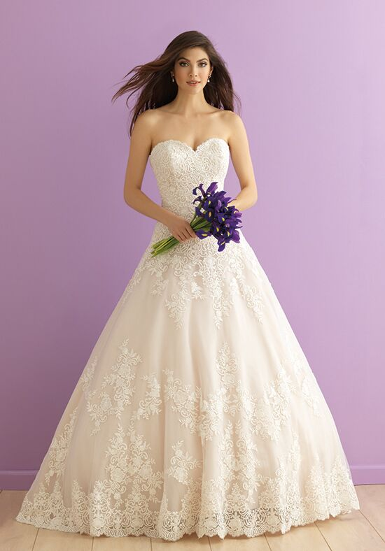 Allure Romance 2917 Ball Gown Wedding Dress