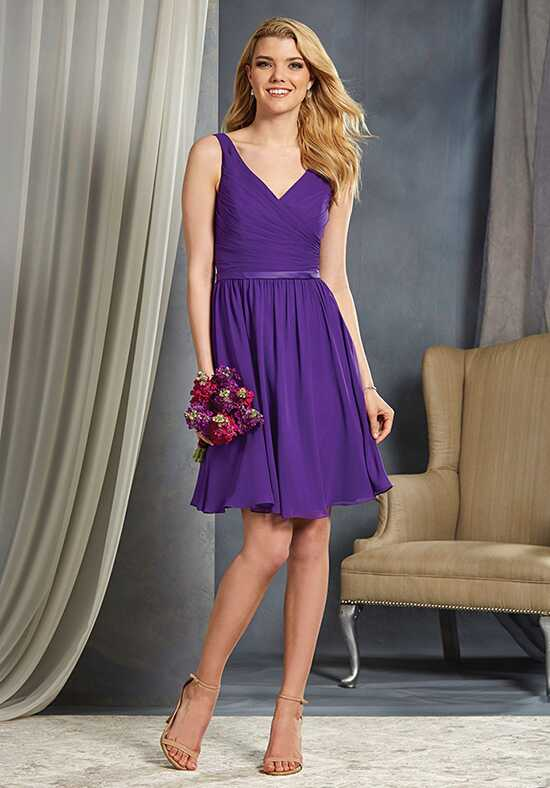 Alfred Angelo Signature Bridesmaids Collection 7363S V-Neck Bridesmaid Dress