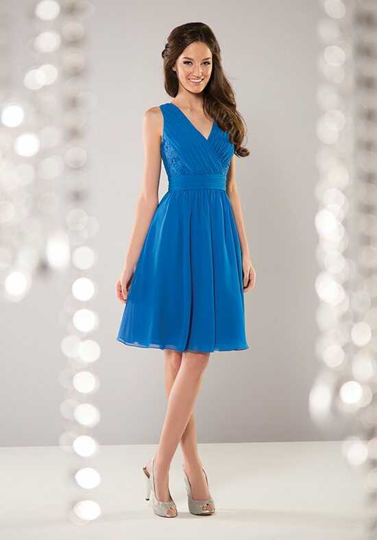 B2 by Jasmine B163061 V-Neck Bridesmaid Dress