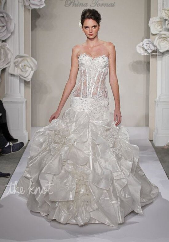 Pnina Tornai for Kleinfeld 4200 Mermaid Wedding Dress