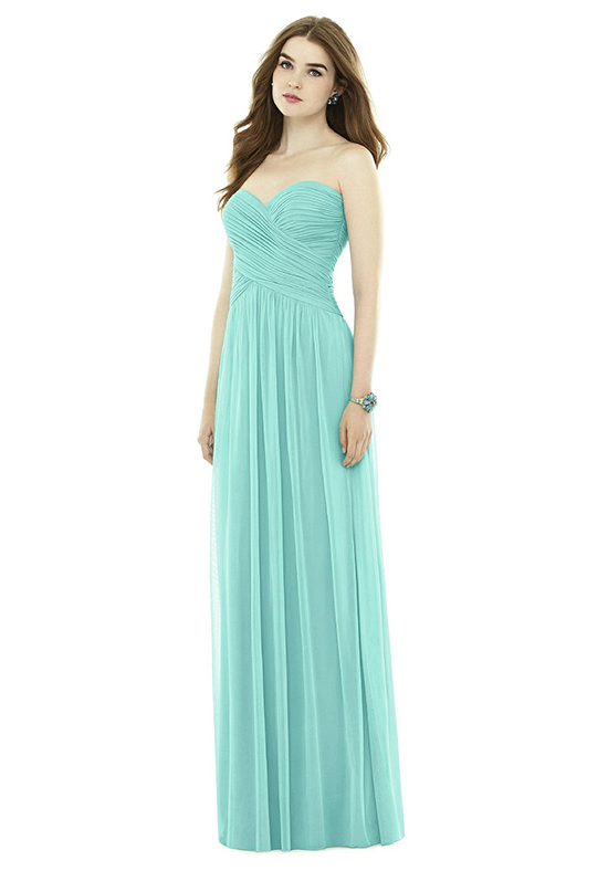 Alfred Sung D721 Sweetheart Bridesmaid Dress