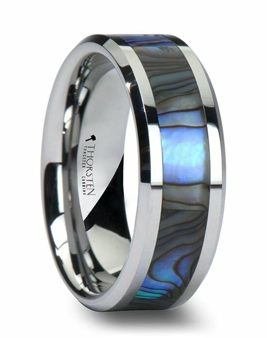 larson jewelers maui tungsten wedding band with mother of