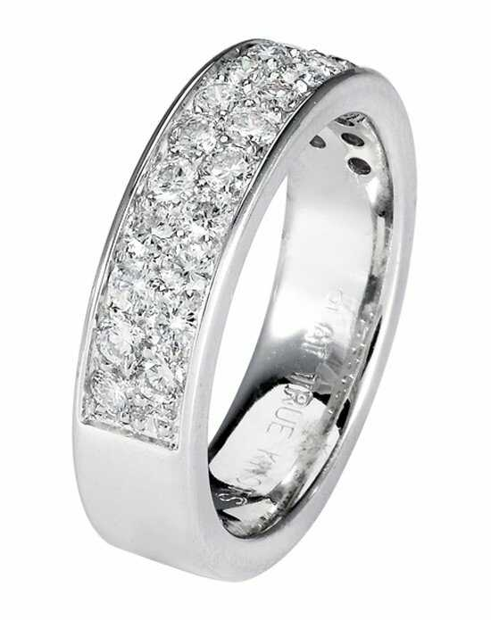 TRUE KNOTS LOVE IS LIGHT COLLECTION-DW216 Palladium,Platinum,White Gold Wedding Ring