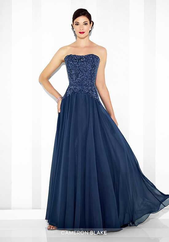 Cameron Blake 117604 Blue Mother Of The Bride Dress