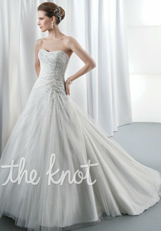 Demetrios 538 A-Line Wedding Dress