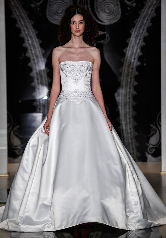 Reem Acra 4961 Ball Gown Wedding Dress