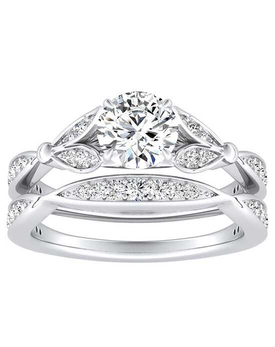 DiamondWish.com Elegant Princess, Asscher, Cushion, Pear, Round Cut Engagement Ring