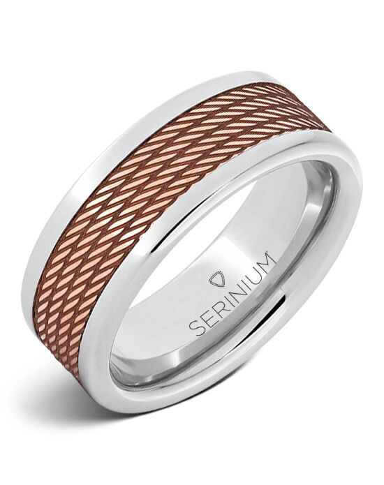 Serinium® Collection Transatlantic — Serinium® Royal Copper™ Ring-RMSA002701 Serinium® Wedding Ring