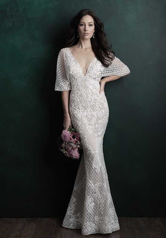 Allure Couture C503 Sheath Wedding Dress