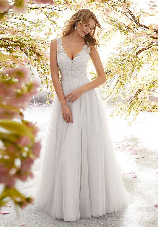 Morilee by Madeline Gardner/Voyage 6891 / Lola A-Line Wedding Dress