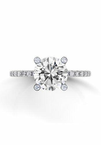 Danhov Clico Diamond Gs Platinum Wedding Ring