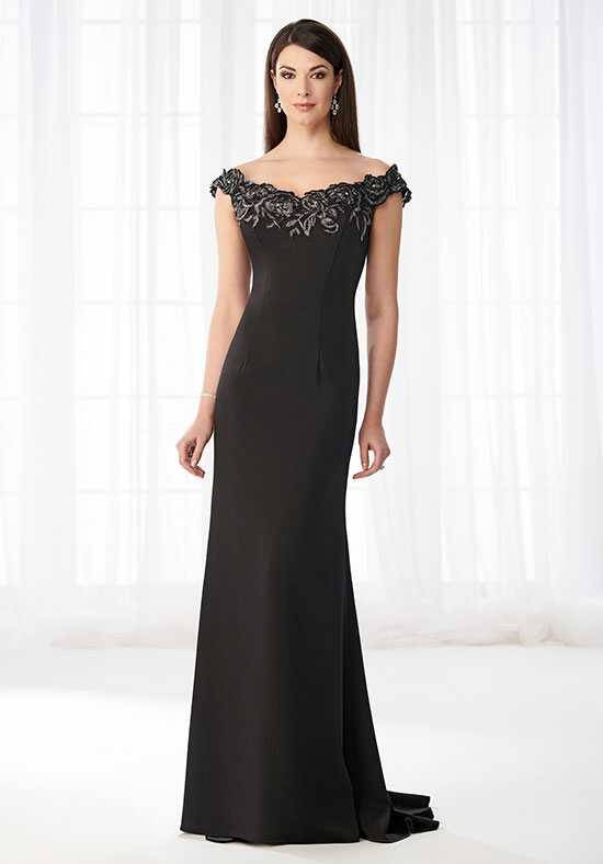 Cameron Blake 218618 Black Mother Of The Bride Dress