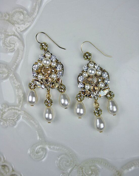 Everything Angelic Jackilyn Marie Earrings - e303 Wedding Earring photo