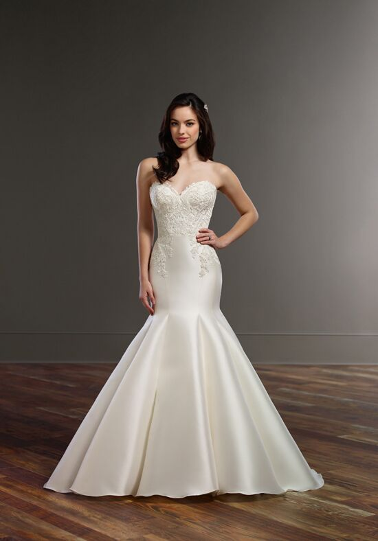 Martina Liana 853 Mermaid Wedding Dress