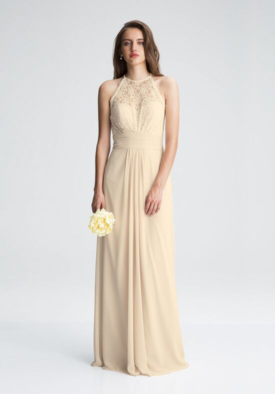 Bill Levkoff 1412 Illusion Bridesmaid Dress