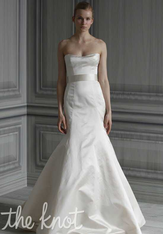 Monique Lhuillier Simplicity Mermaid Wedding Dress