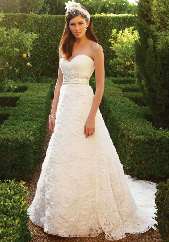 Casablanca Bridal 2048 A-Line Wedding Dress