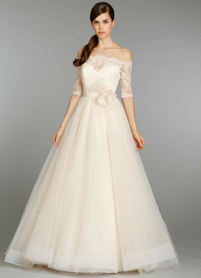 Tara Keely by Lazaro 2358 Ball Gown Wedding Dress