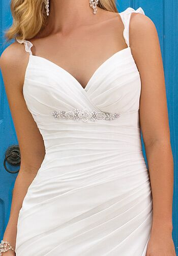 Ella Bridals 5618 Sheath Wedding Dress