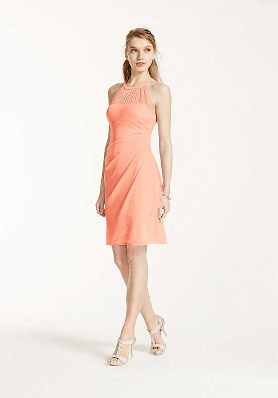 David's Bridal Collection David's Bridal Style F15612 Illusion Bridesmaid Dress