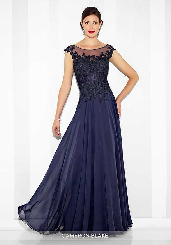 Cameron Blake 117614 Blue Mother Of The Bride Dress
