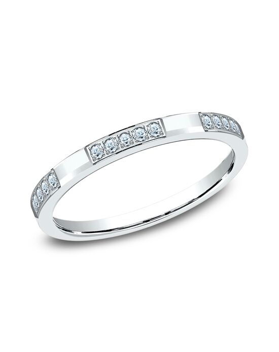 Benchmark 522851W White Gold Wedding Ring