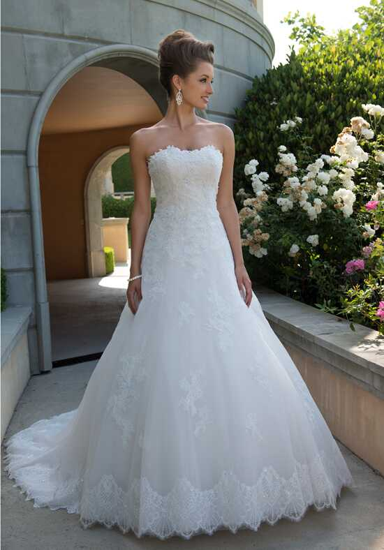 Venus Bridal VE8738N A-Line Wedding Dress