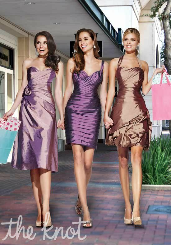 Impression Bridesmaids 20017/20019/20011 Halter, Sweetheart Bridesmaid Dress