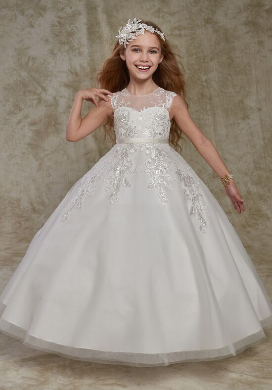 Cupids by Mary's F541 Ivory Flower Girl Dress